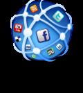 social-media-globe