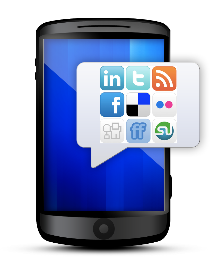 mobile phone and social media Well start with an interesting stat - in 1971, the first email was delivered more than 40 years on, social media has taken the world by storm social networking sites, such as facebook and twitter, are now used by 1 in 4 people worldwide.