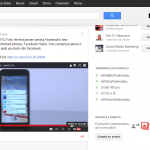 YouTube Video Shared on Google+