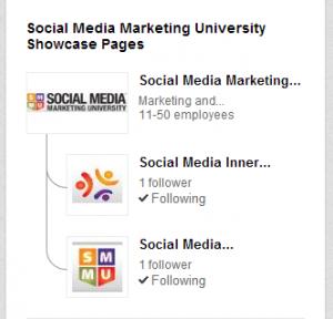 LinkedIn Love SMMU Showcase Pages