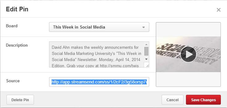 Pinterest Promotion Edit Pin