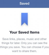 Facebook Save Launches