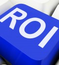 Roi Key Shows Return On Investment Or Finance