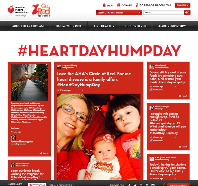 #HeartDayHumpDay