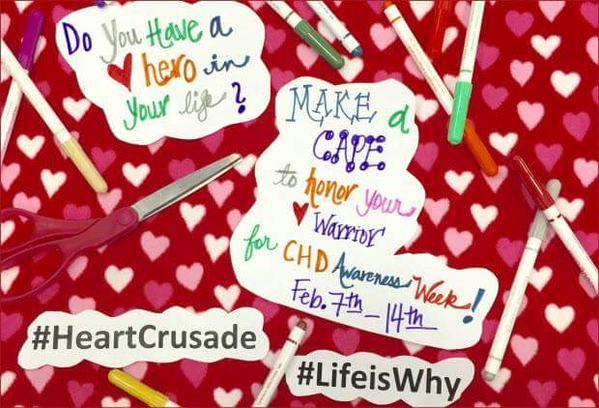 #HeartCrusade