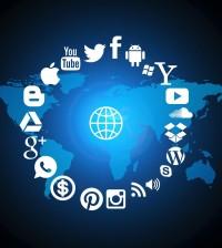internet globe
